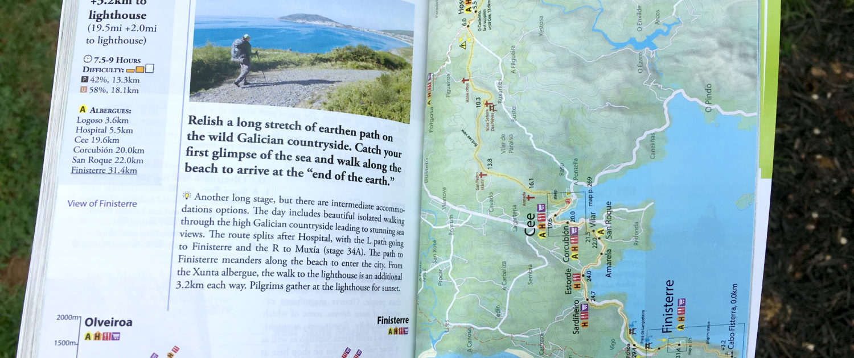 Maps, GPS, Trail Markings – Camino Guidebooks – Village to Village