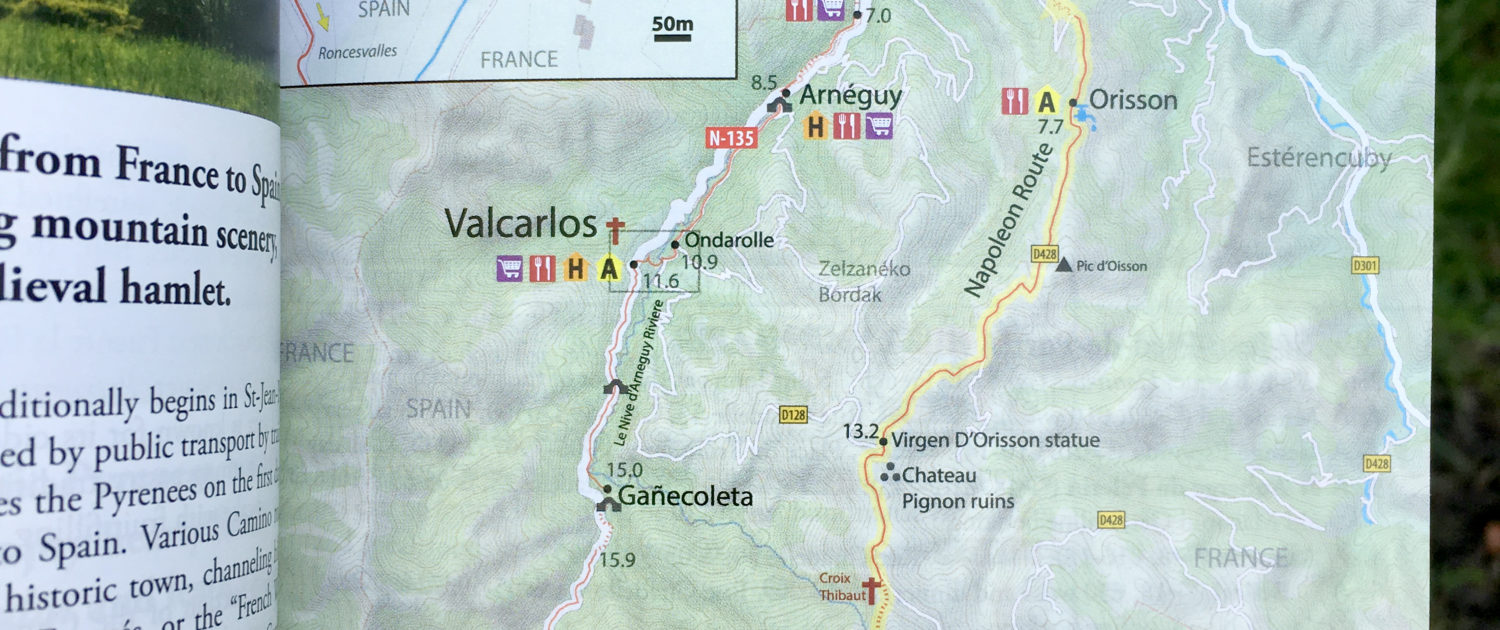 Maps gps trail markings camino guidebooks village to village previousnext biocorpaavc